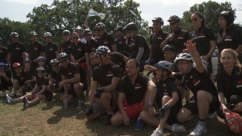 FILDAS și CATENA Grup la Mountain Bike MACIN XC 2014